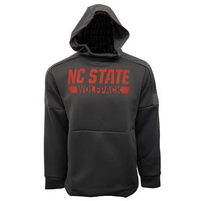 NC State Adidas Men's Game Mode Hoodie GREY