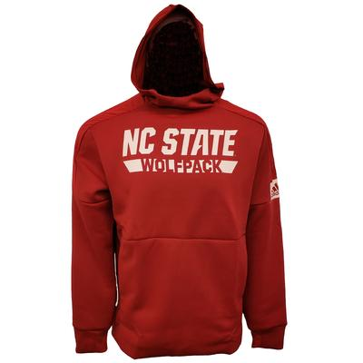 NC State Adidas Men's Game Mode Hoodie RED