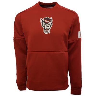 NC State Adidas Game Mode Crew Pullover
