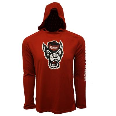 NC State Adidas Men's Game Mode Training Hoodie