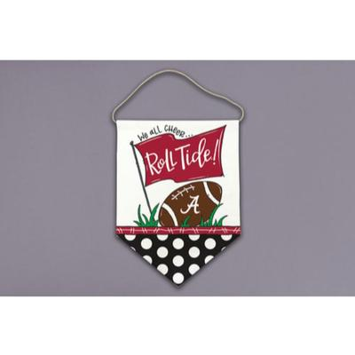 Alabama Magnolia Lane All Cheer Canvas Hanger