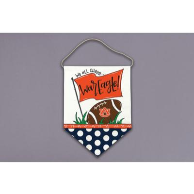 Auburn Magnolia Lane All Cheer Canvas Hanger