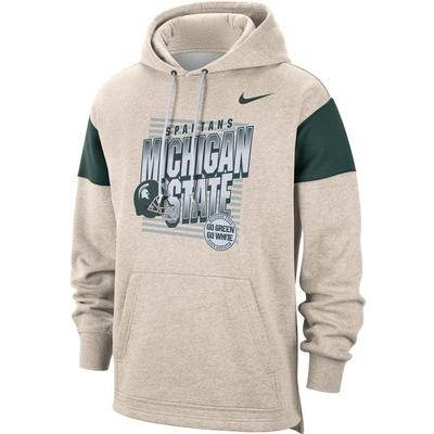 Michigan State Nike Local Pullover Hoodie