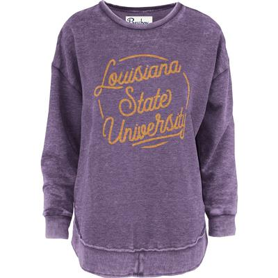 LSU Pressbox Roxy Vintage Wash Fleece
