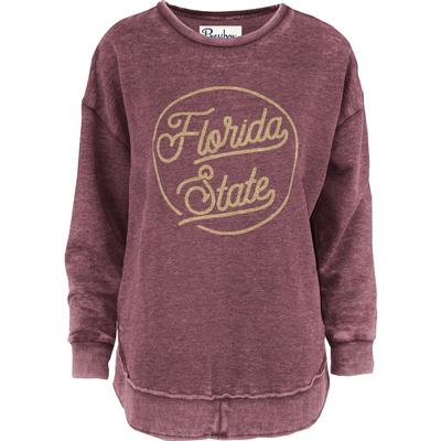 Florida State Pressbox Roxy Vintage Wash Fleece