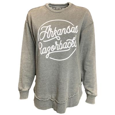 Arkansas Pressbox Roxy Vintage Wash Fleece