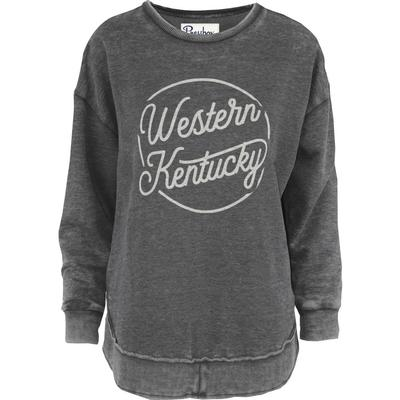 Western Kentucky Pressbox Roxy Vintage Wash Fleece