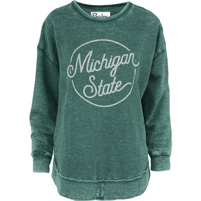 Michigan State Pressbox Roxy Vintage Wash Fleece