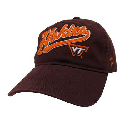 Virginia Tech Cotton Felt Logo Adjustable Hat
