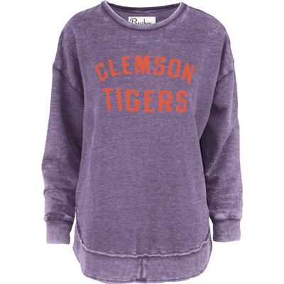 Clemson Pressbox Travis Vintage Wash Fleece