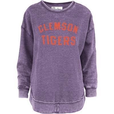 Clemson Pressbox Travis Vintage Wash Fleece
