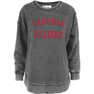Georgia Pressbox Travis Vintage Wash Fleece