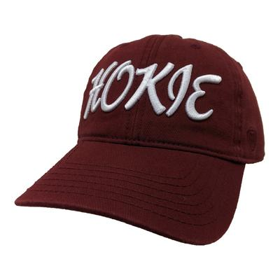 Virginia Tech Women's Zoey Script Adjustable Hat