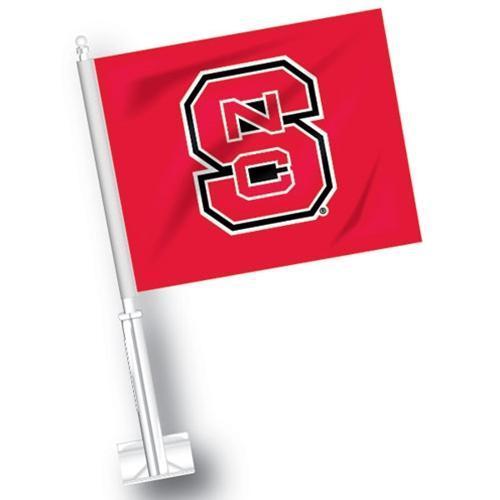 Nc State Ncs Logo Car Flag