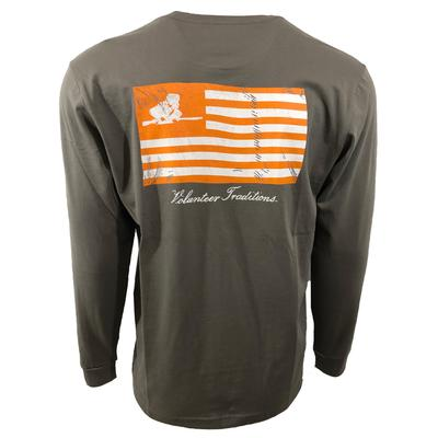 Tennessee Volunteer Traditions Rifleman Flag Tee Shirt