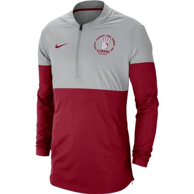 Alabama Nike 1/4 Zip Rivalry Jacket