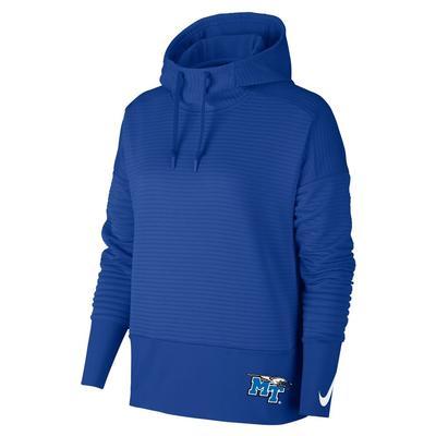 MTSU Nike Women's Double Fleece Pullover Hoodie