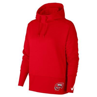 Western Kentucky Nike Women's Double Fleece Pullover Hoodie