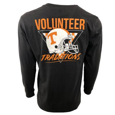 Tennessee Volunteer Traditions 90's Power T Helmet Tee Shirt