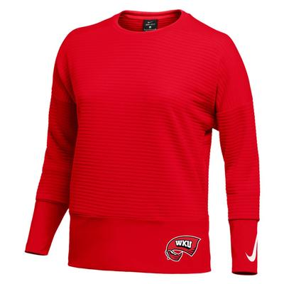 Western Kentucky Nike Women's Double Fleece Crew