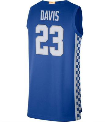 Kentucky Nike Anthony Davis Limited Basketball Jersey