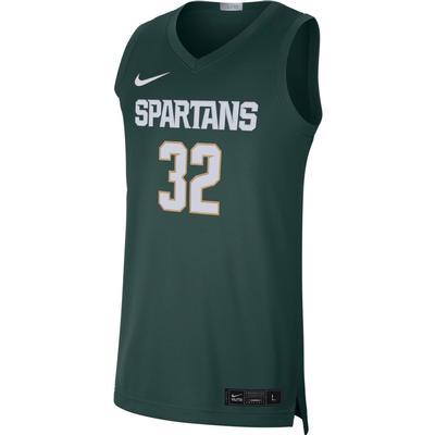 Michigan State Nike Limited Road Basketball Jersey