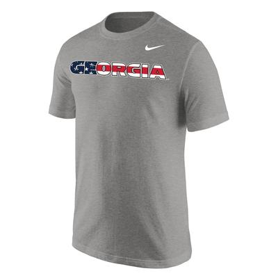 Georgia Nike Americana Legend Performance Tee