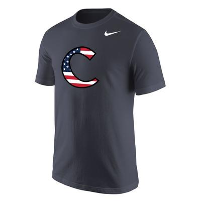 Clemson Nike Americana Legend Performance Tee ANTHRACITE