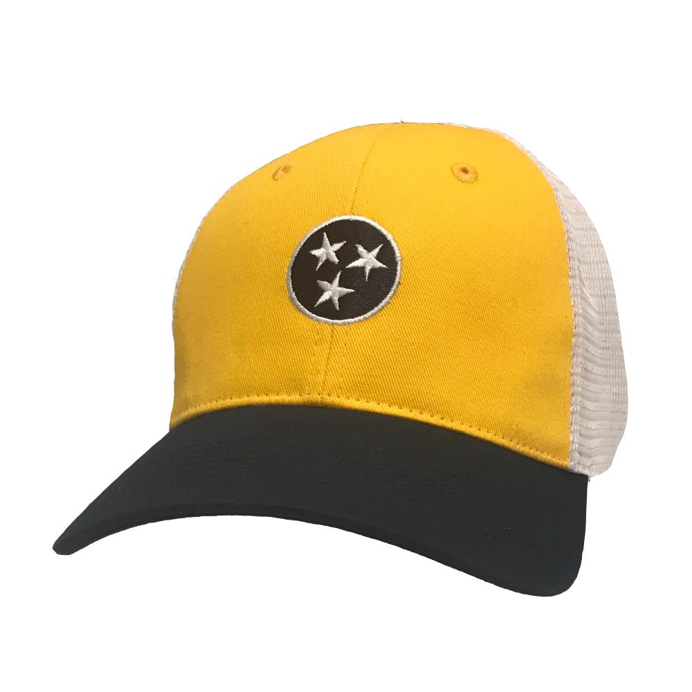 Tennessee Volunteer Traditions Three Tone Tri- Star Promesh Hat