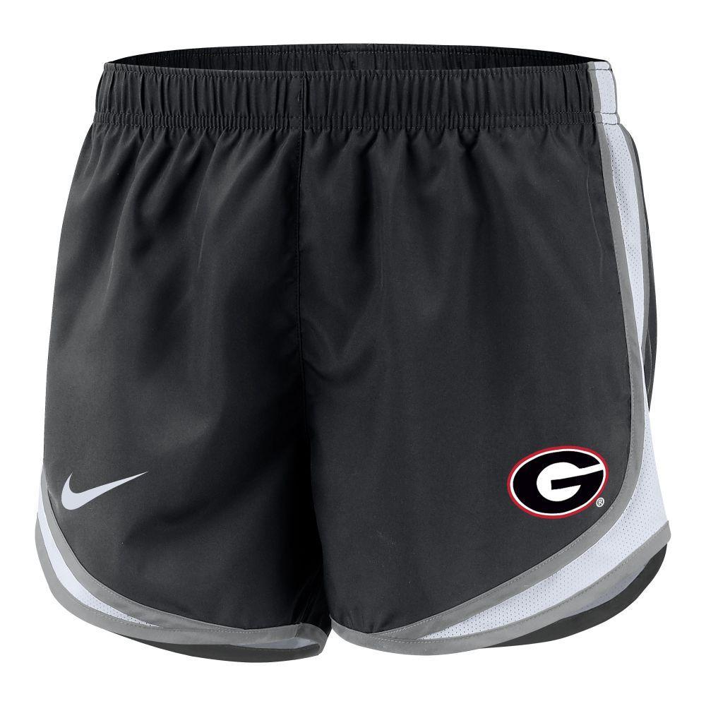 Georgia Nike Girls ' Dri- Fit Tempo Shorts