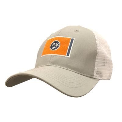 Tennessee Volunteer Traditions Orange Tri-Star Flag Hat