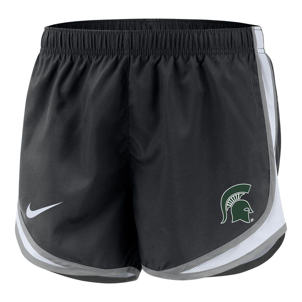 Michigan State Nike Girls ' Dri- Fit Tempo Shorts