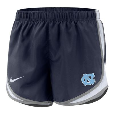 UNC Nike Girls' Dri-FIT Tempo Shorts