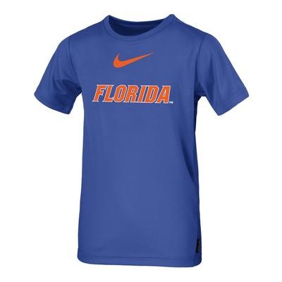 Florida Nike Boys Coaches Short Sleeve Tee