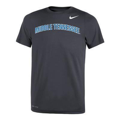 MTSU Nike Youth Legend 2.0 Dri-FIT Short Sleeve Tee