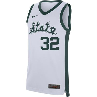 Michigan State Nike Replica Retro Basketball Jersey