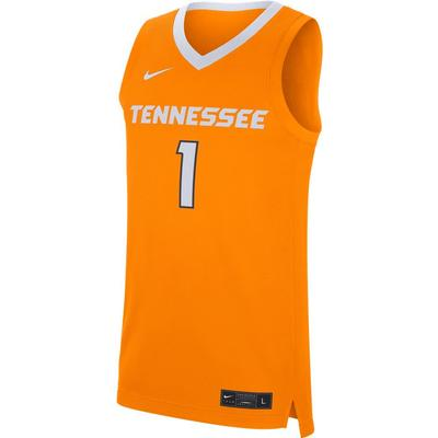Tennessee Nike Replica Road Basketball Jersey
