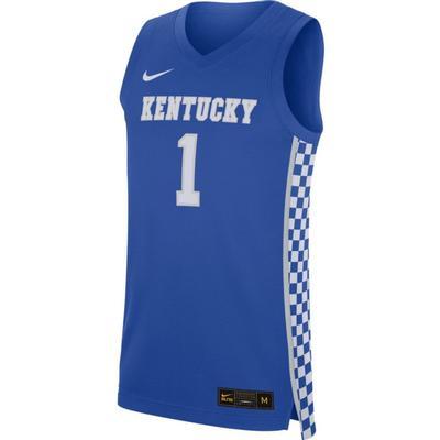 Kentucky Nike Replica Road Basketball Jersey