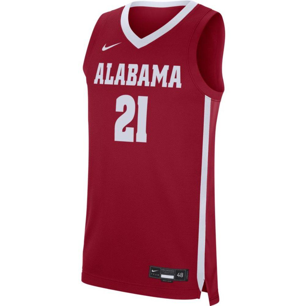 Alabama Nike Replica Road Basketball Jersey
