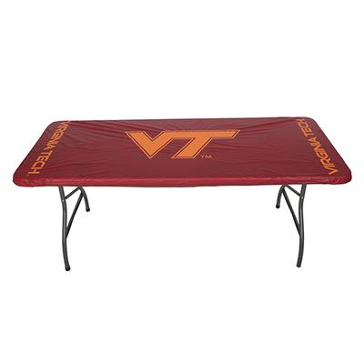 Virginia Tech Fitted Table Cloth Cover (8ft)
