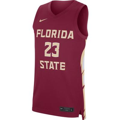 Florida State Nike Replica Road Basketball Jersey