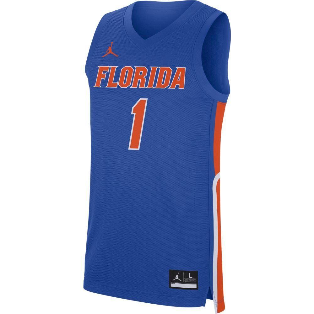 Florida Nike Replica Road Basketball Jersey