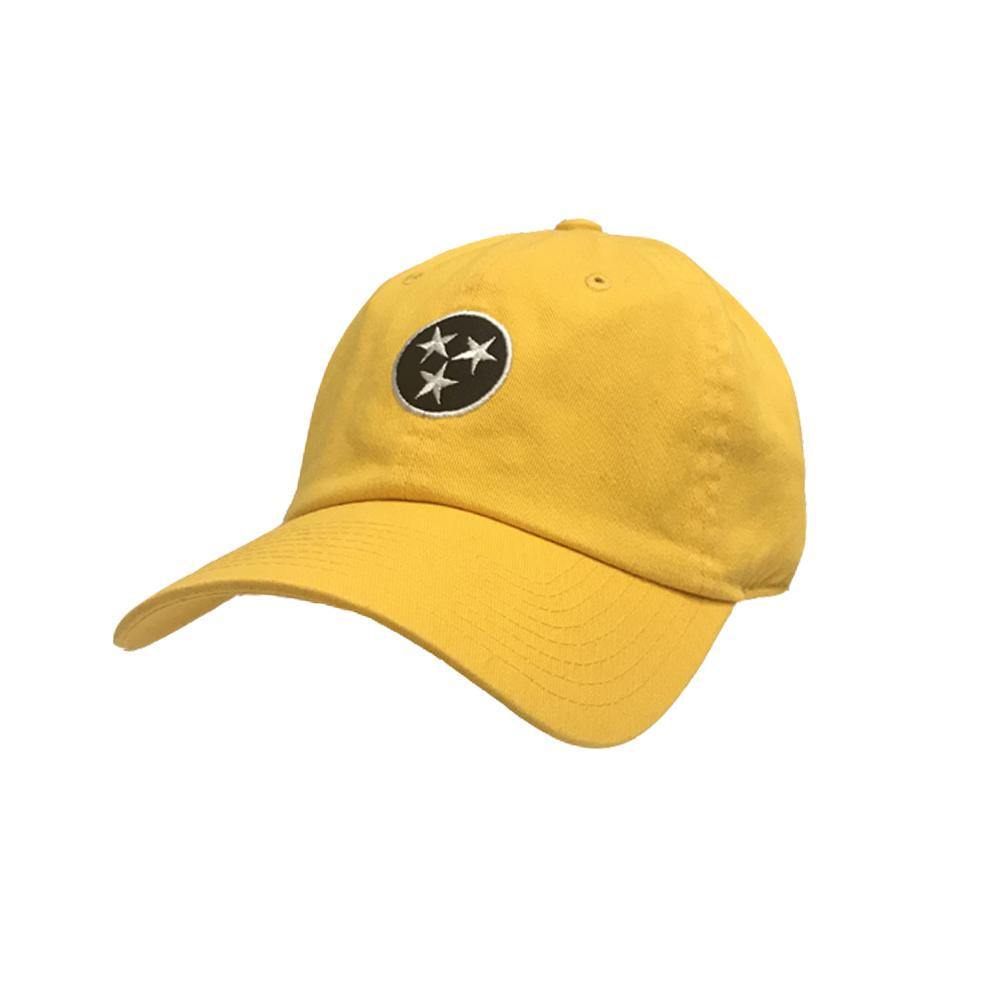 Tennessee Volunteer Traditions Gold Twill Crew Hat