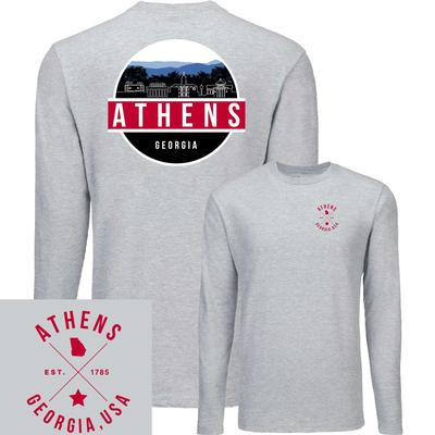 Athens UScape Scenic Circle Long Sleeve Tee