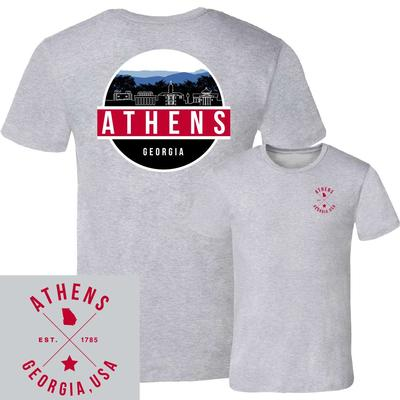 Athens UScape Scenic Circle Short Sleeve Tee