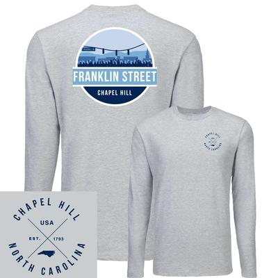 Franklin Street UScape Circle Scene Long Sleeve Tee Shirt