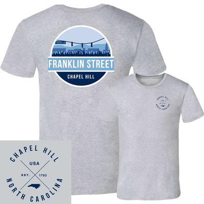 Franklin Street UScape Circle Scene Short Sleeve Tee Shirt