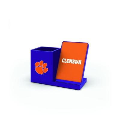 Clemson Prime Brands Wireless Charging Station