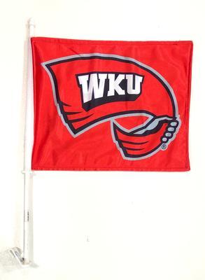 Western Kentucky Towel Logo Car Flag