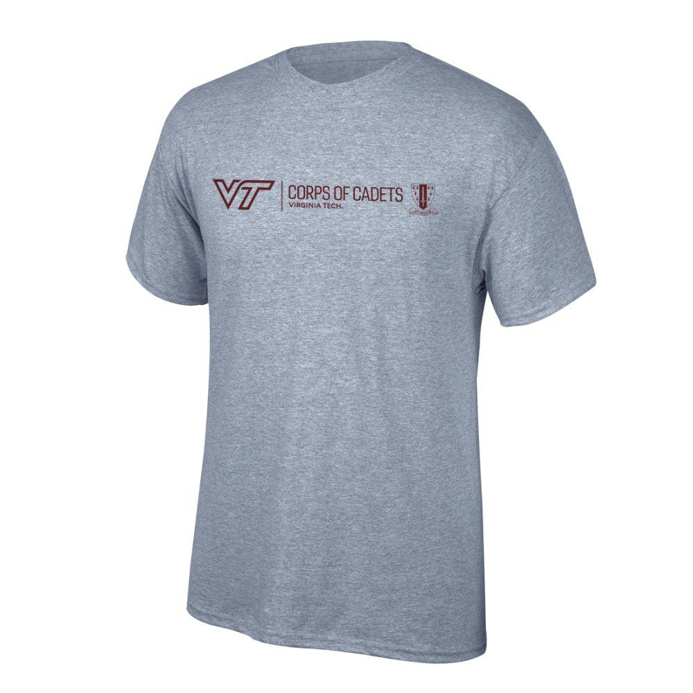 Virginia Tech Corps Of Cadets New Logo T- Shirt